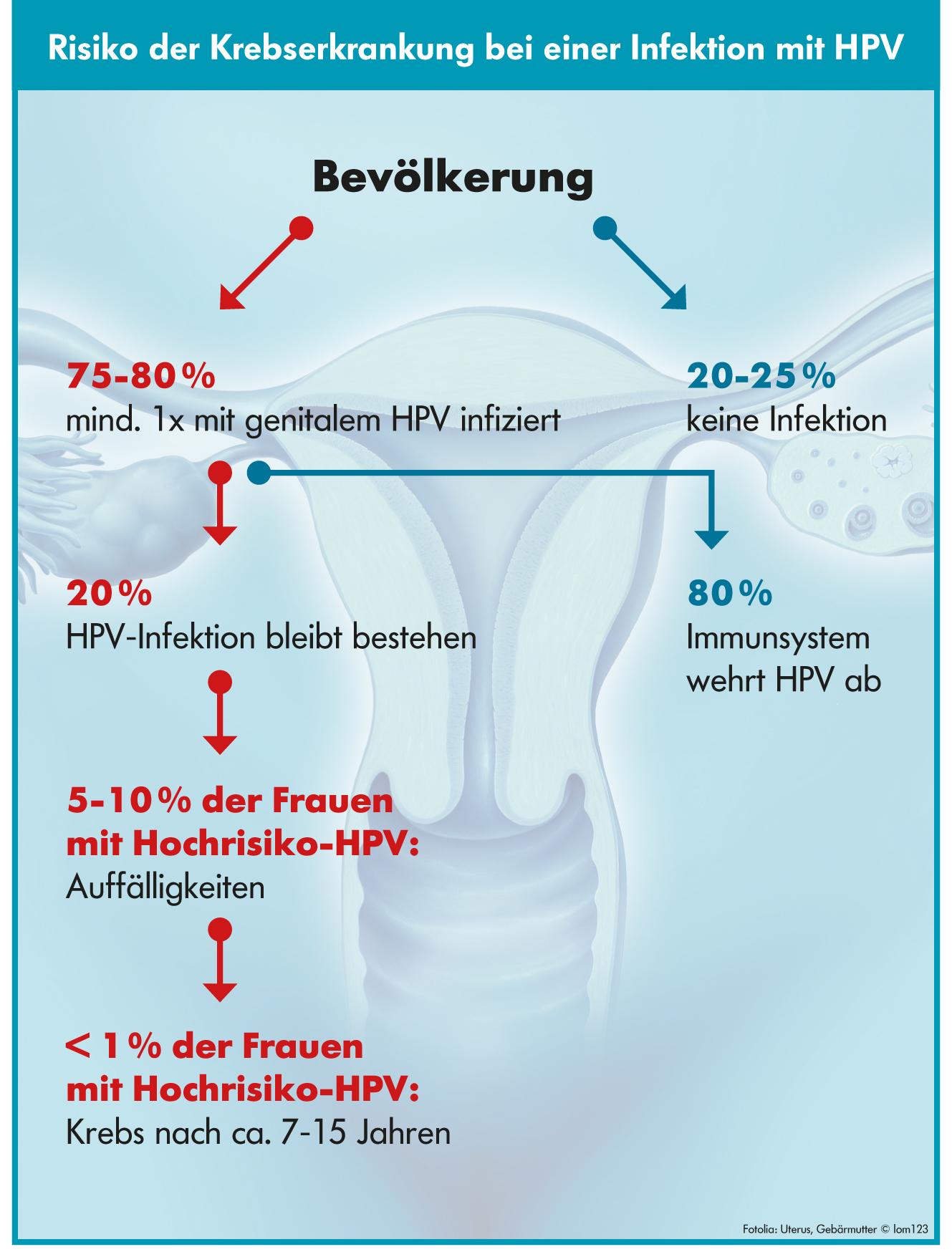 """Risiko Krebserkrankung HPV - Bildquelle """"MVZ Institut für Mikroökologie GmbH"""""""